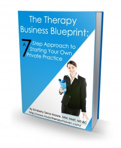 Check out the Therapy Business Blueprint cover